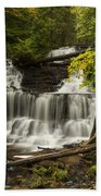 Wagner Falls 3 Bath Towel