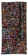 Wall Of Gum Hand Towel
