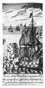 War Of Spanish Succession Bath Towel