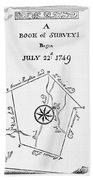 Washington: Book Of Surveys Bath Towel