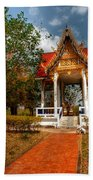 Wat Kham Chanot Bath Towel