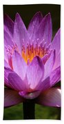 Water Lily Blossom Bath Towel