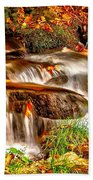 Water Over The Rocks Bath Towel