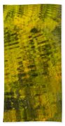 Water Reflection Abstract Autumn 1 D Bath Towel
