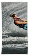 Water Skiing Magic Of Water 23 Bath Towel