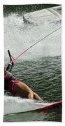Water Skiing Magic Of Water 28 Bath Towel