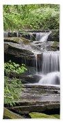 Waterfall Near Mabbitt Spring Bath Towel