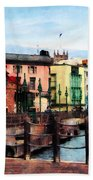 Waterfront Bridgetown Barbados Bath Towel