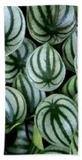 Watermelon Leaves Bath Towel