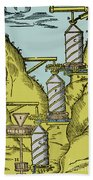 Watermill Reversed Archimedean Screw Hand Towel