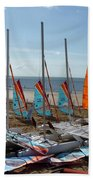 Watersports In La Baule Bath Towel
