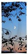 Waxing Crescent Moon Bath Towel