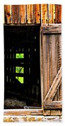 Weathered Barn Door Bath Towel