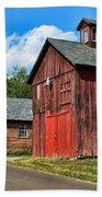Weathered Red Barn Hand Towel