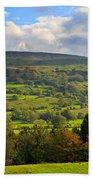 Wensleydale Near Westholme Bank In The Yorkshire Dales Bath Towel
