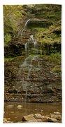 West Virginia Waterfall Bath Towel