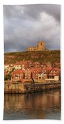 Whitby Harbour Bath Towel
