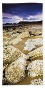 White Park Bay, County Antrim, Ireland Bath Towel