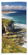 White Rocks, Portrush, Co Antrim Bath Towel