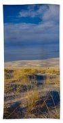 White Sands Golden Grass Bath Towel