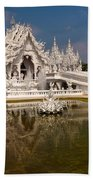 White Temple Bath Towel
