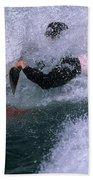 White Water Kayaker Bath Towel
