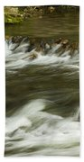 Whitewater River Rapids 3 Bath Towel