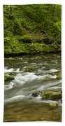 Whitewater River Spring 8 A Bath Towel