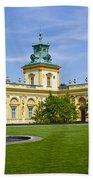 Wilanow Palace - Warsaw Bath Towel