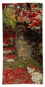 Wild Garden, Rowallane Garden, Co Down Bath Towel