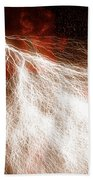 Wild Lightning  Bath Towel