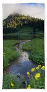 Wildflower Stream Bath Towel