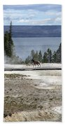 Wildlife In Yellowstone Bath Towel