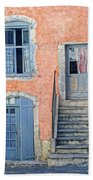 Window And Doors Provence France Bath Towel