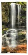 Window Falls Cascade Bath Towel