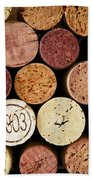 Wine Corks Hand Towel