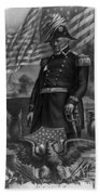 Winfield Scott, American Army General Bath Towel