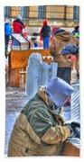 Winter Fest Artist Bath Towel