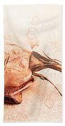 Withered Dreams Bath Towel