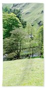 Wolfscote Dale From Gipsy Bank Bath Towel