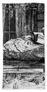 Woman Reading, C1873 Bath Towel
