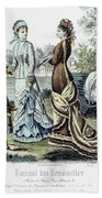 Womens Fashion, 1877 Hand Towel