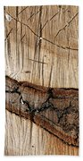 Wood Design Bath Towel