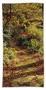 Woodland Path, Mount Stewart, Ards Bath Towel