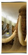 Wooly Mammoth Bath Towel