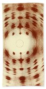 X-ray Diffraction Bath Towel