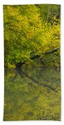 Yellow Autumn Hand Towel