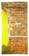 Yellow Gateway Hand Towel