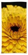 Yellow Gold Bath Towel