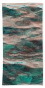 Yellowstone Abstract Hand Towel